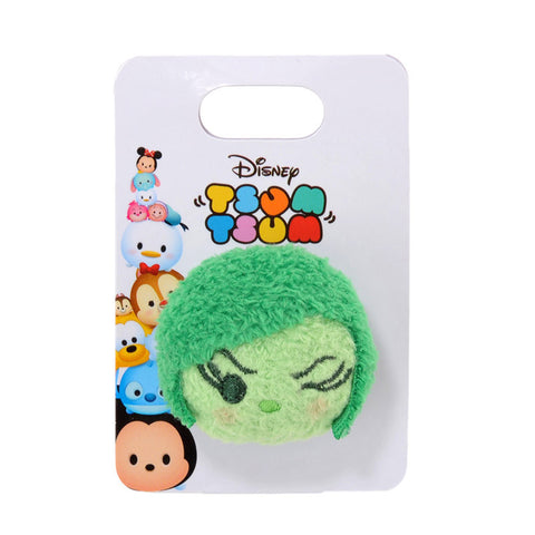 Inside Out Disgust TSUM TSUM Plush Stuffed badge / Pin Disney Store Japan