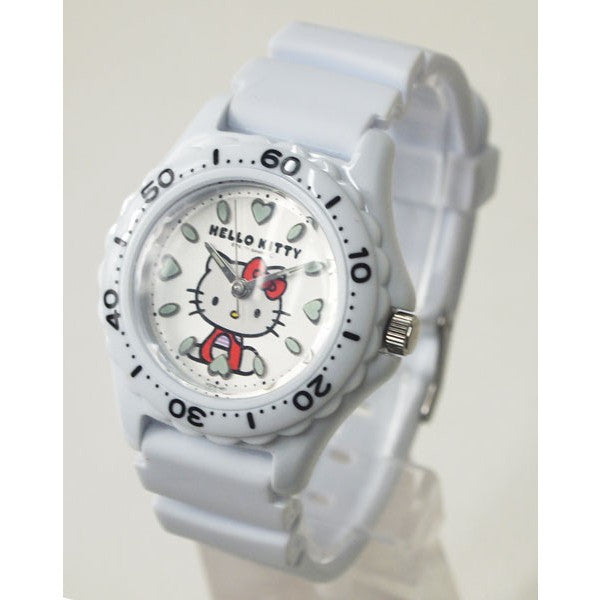 Hello Kitty Wrist Watch Waterproof White VQ75-431 CITIZEN Q&Q Japan Sanrio