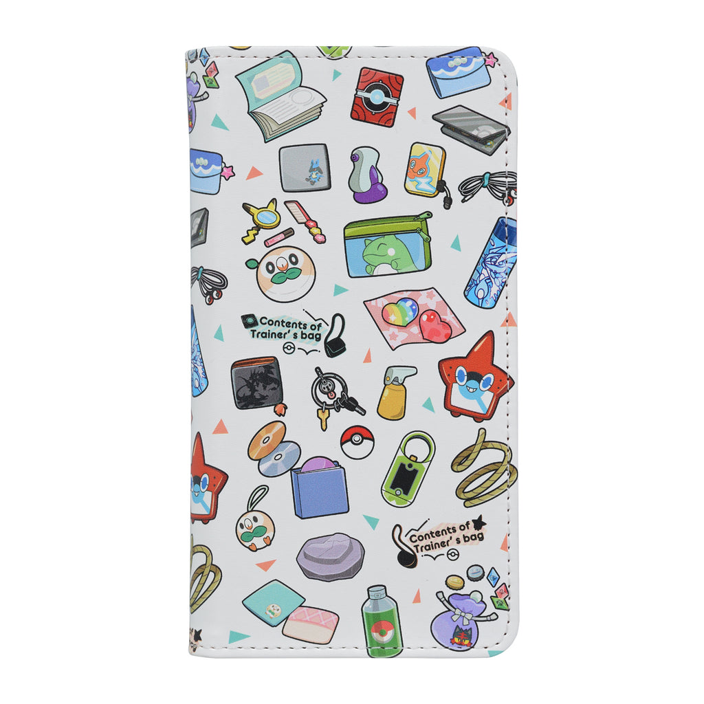 Multi Smartphone Case Cover Contents of Trainer's bag RD Pokemon Center Japan