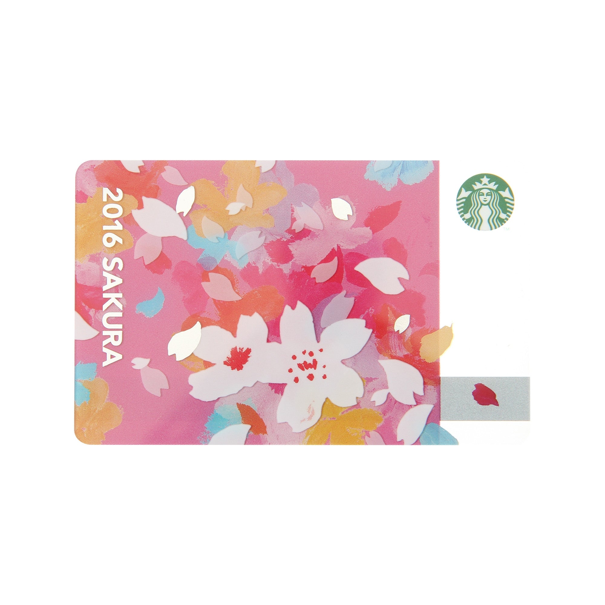 Starbucks Japan Sakura 2016 Cheery Gift Card W Sleeve Verygoods Jp