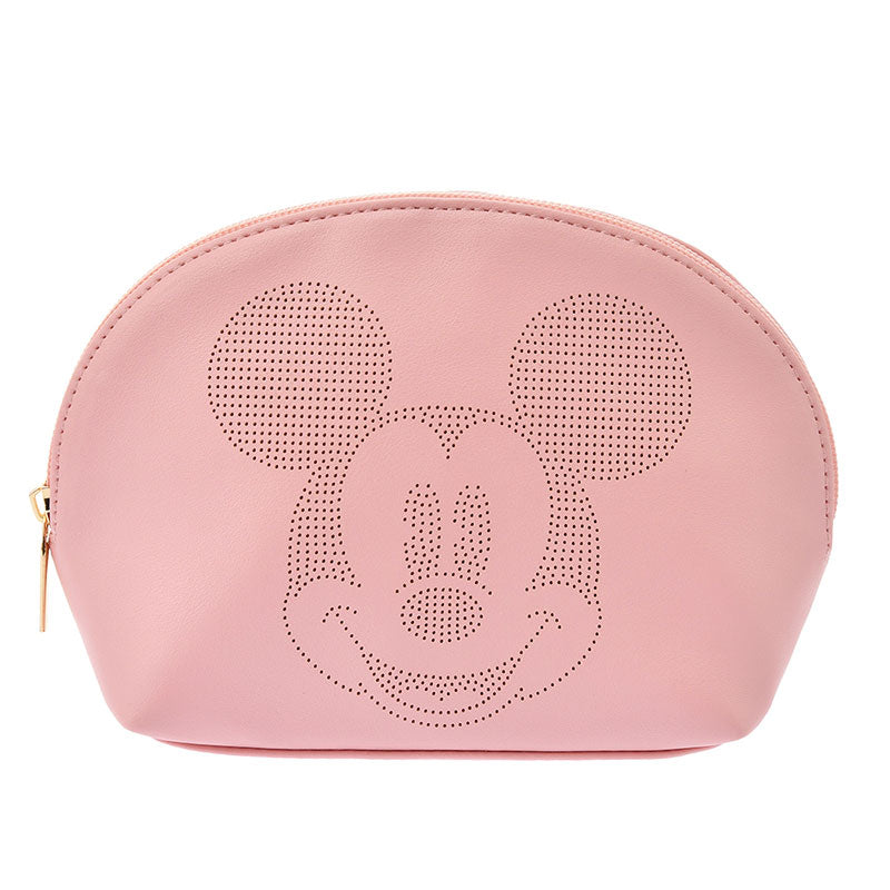 Mickey Pouch Pink Oshigoto Work Disney Store Japan