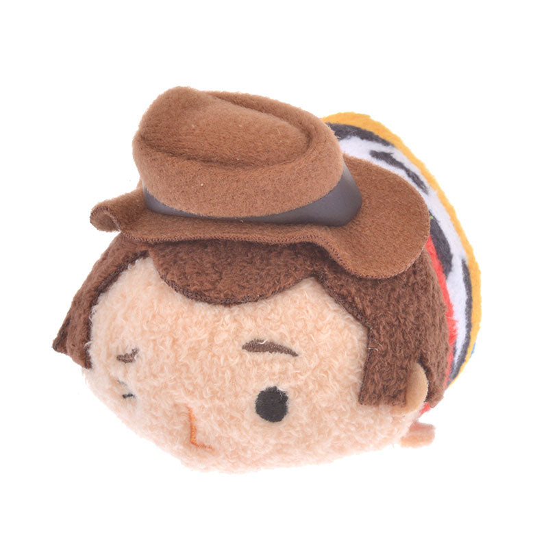 Toy Story 4 Woody Tsum Tsum Plush Doll mini S Disney Store Japan