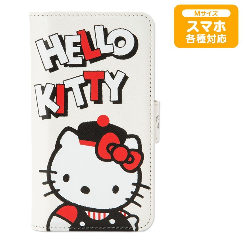 Hello Kitty Multi Smartphone Case Cover 80s Monotone 45th Sanrio Japan