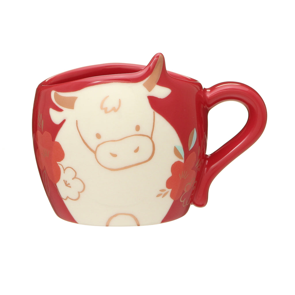 Mug Cup Zodiac Ox Cow 89ml New Year 2021 Starbucks Japan