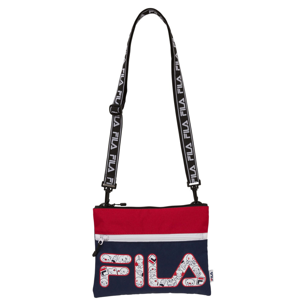Sacoche Shoulder Bag Water type Pokemon Center FILA Japan Original