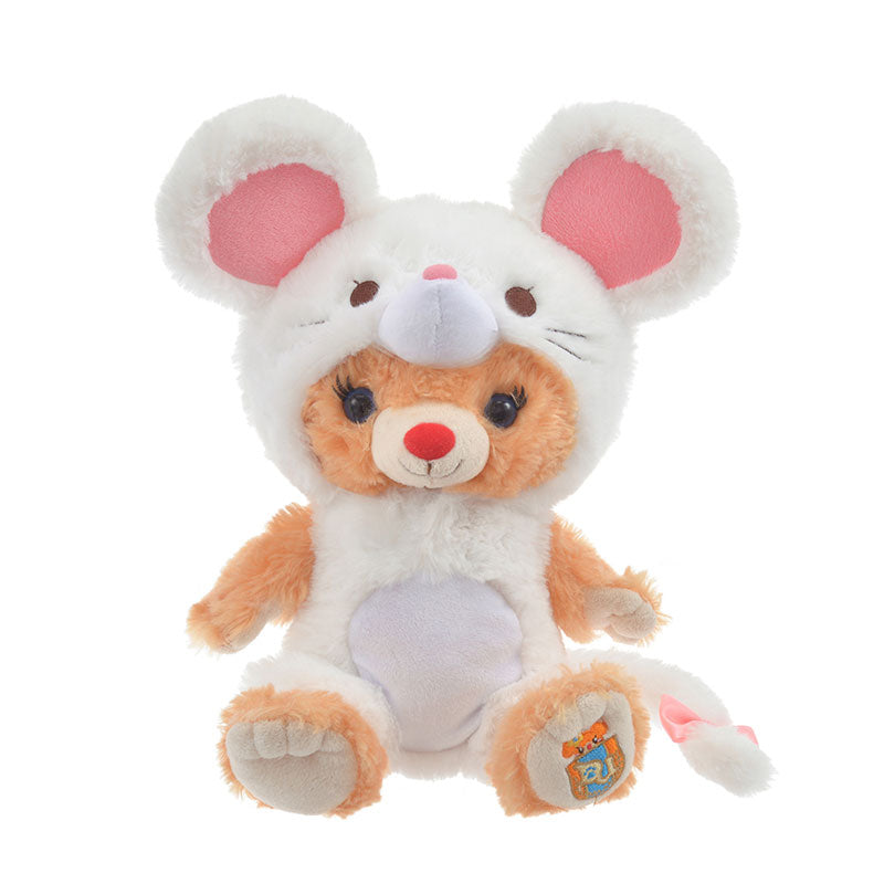 UniBEARsity Costume for Plush Doll Mouse White Disney Store Japan New Year