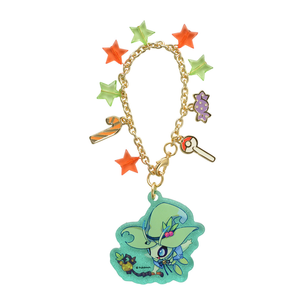 Celebi Acrylic Bag Charm Halloween Festival! Pokemon Center Japan Original