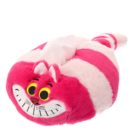 Cheshire Cat Tissue Box Cover ALICE PARTY Disney Store Japan Alice in Wonderland