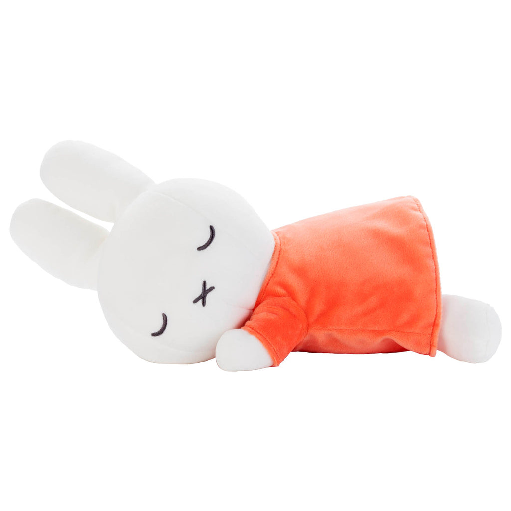 Miffy Orange Plush Doll M Suyasuya Sleeping Friend Dick Bruna Japan Takara Tomy