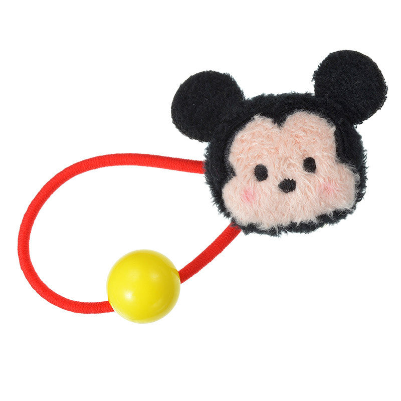 Plush Ponytail TSUM TSUM Mickey Mouse Disney Store Japan Hair accessories