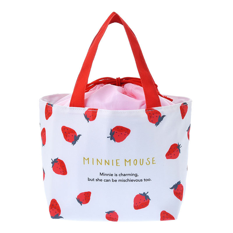 Minnie Lunch Bag Strawberry Ichigo Lifestyle Disney Store Japan