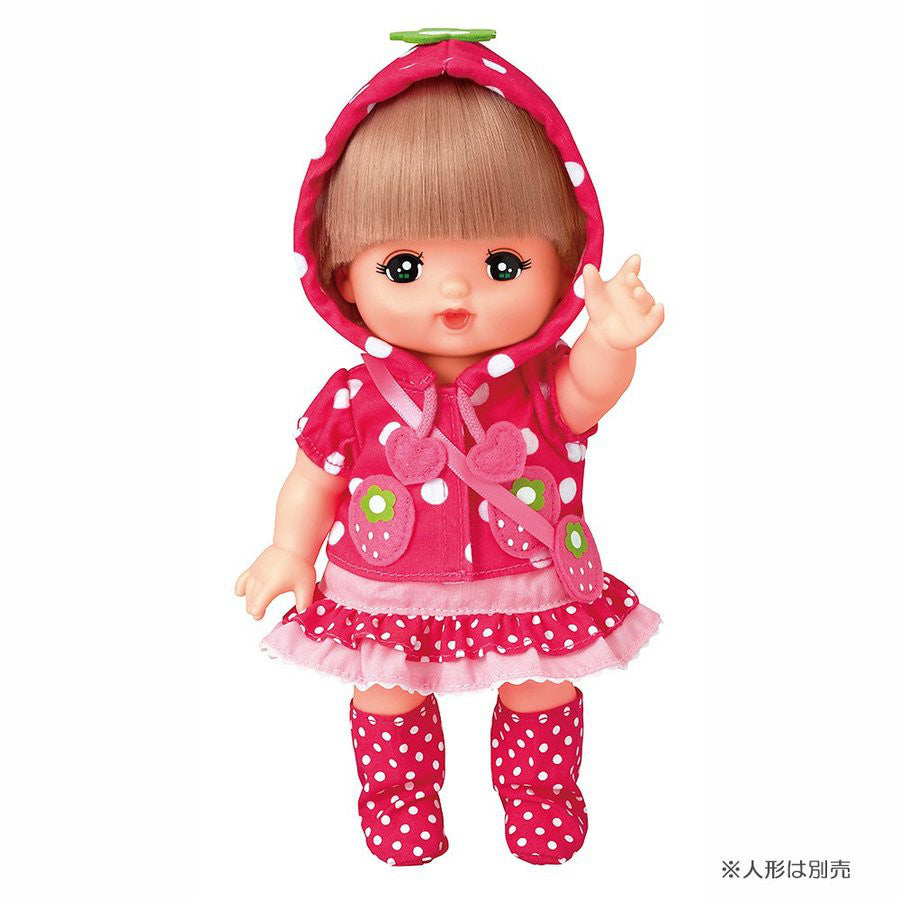 Costume for Mell Chan Strawberryt Hoodie Pilot Japan Pretend Play Toys