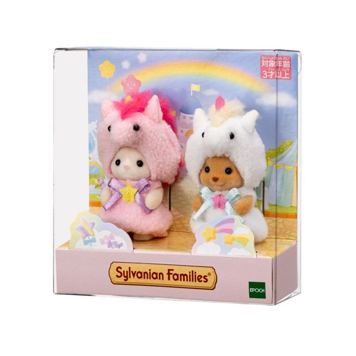 Sylvanian Families Baby Pair Doll Set Unicorn EPOCH Japan Limit