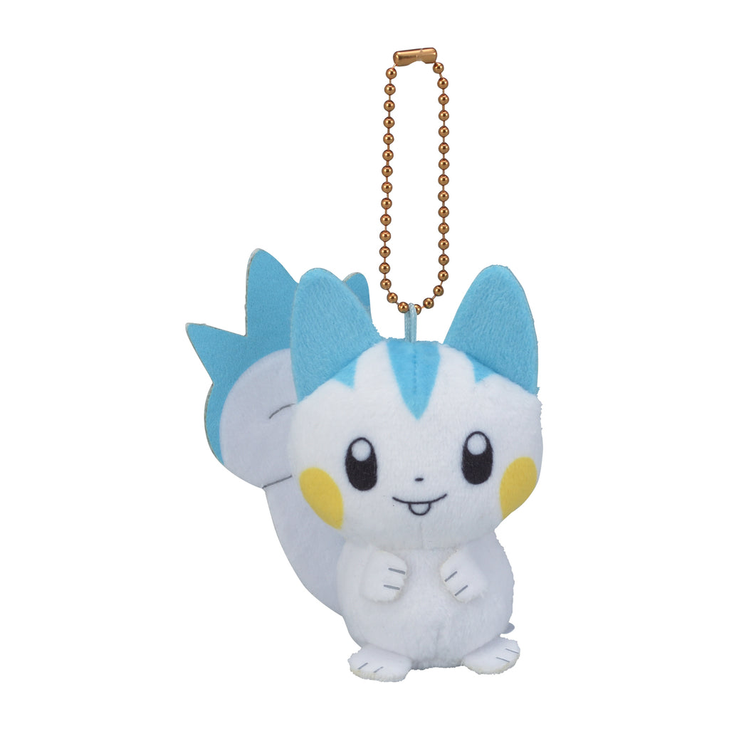 Pachirisu Plush Keychain HOPPE DAISHUGO Pokemon Center Japan Original