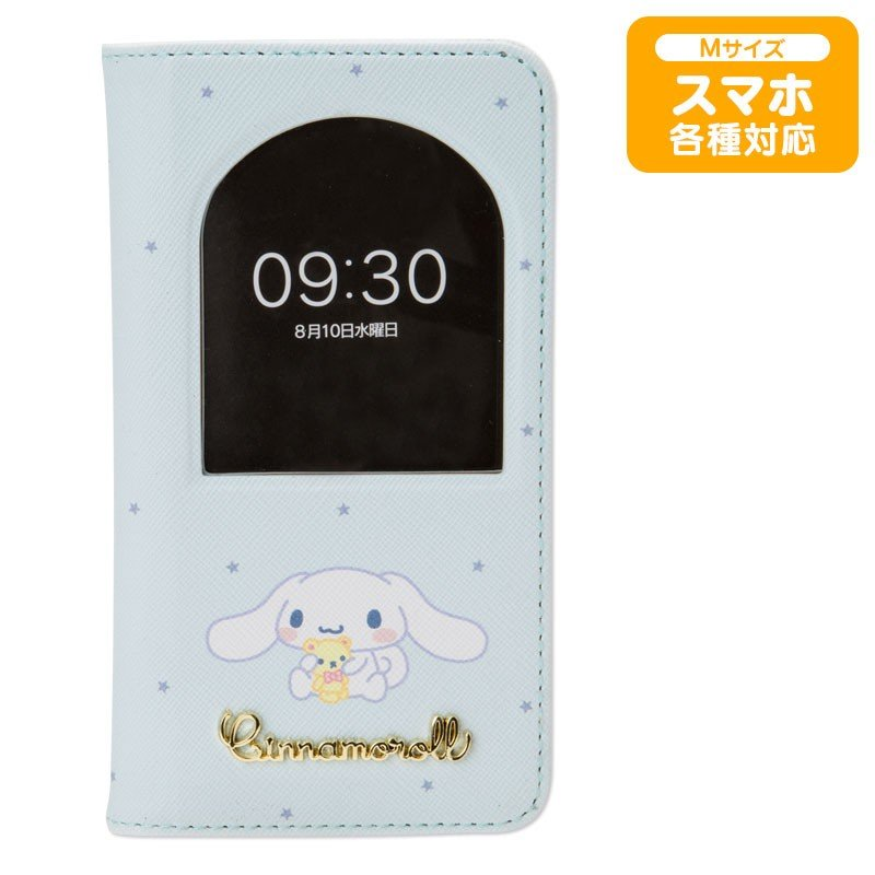 Cinnamoroll Multi Smartphone Case Cover Window Flip Sanrio Japan