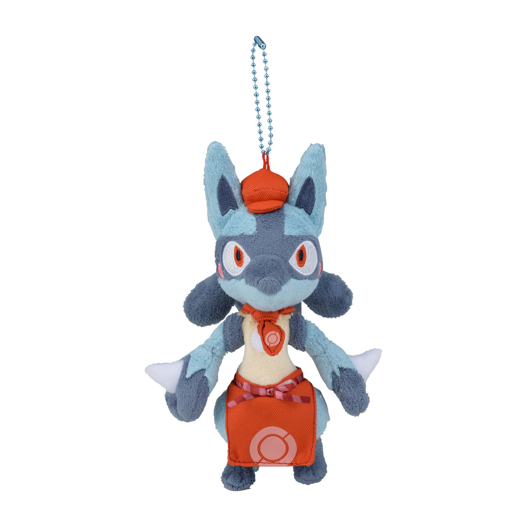 Lucario Plush Keychain Pokemon Cafe Mix Center Japan