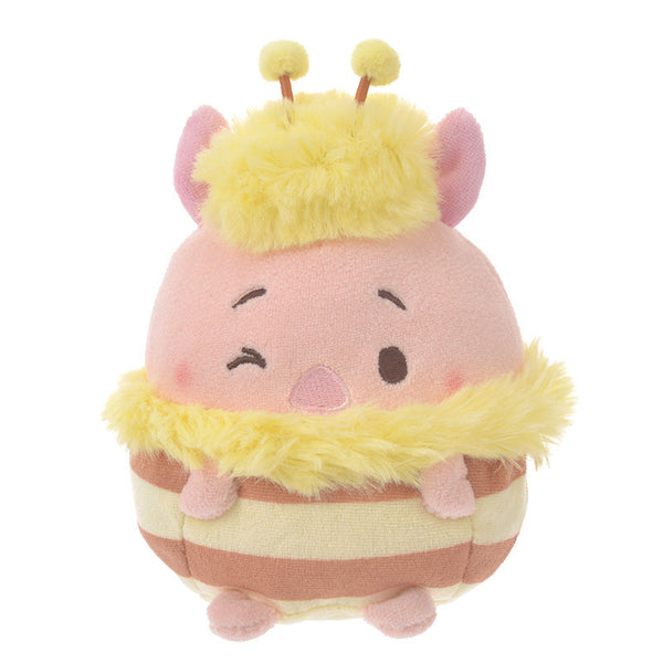Piglet Plush Doll S ufufy Honey Bee Disney Store Japan Winnie the Pooh