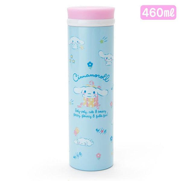 Cinnamoroll Stainless Bottle Tumbler L Box 460ml Sanrio Japan
