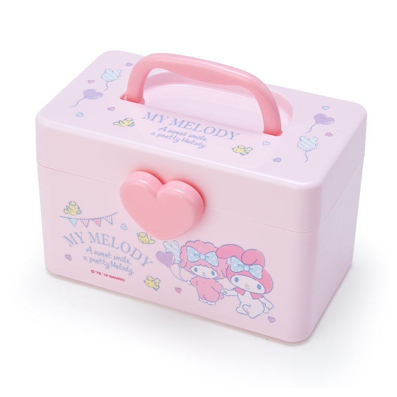 My Melody Storage Box S with Handle Sanrio Japan