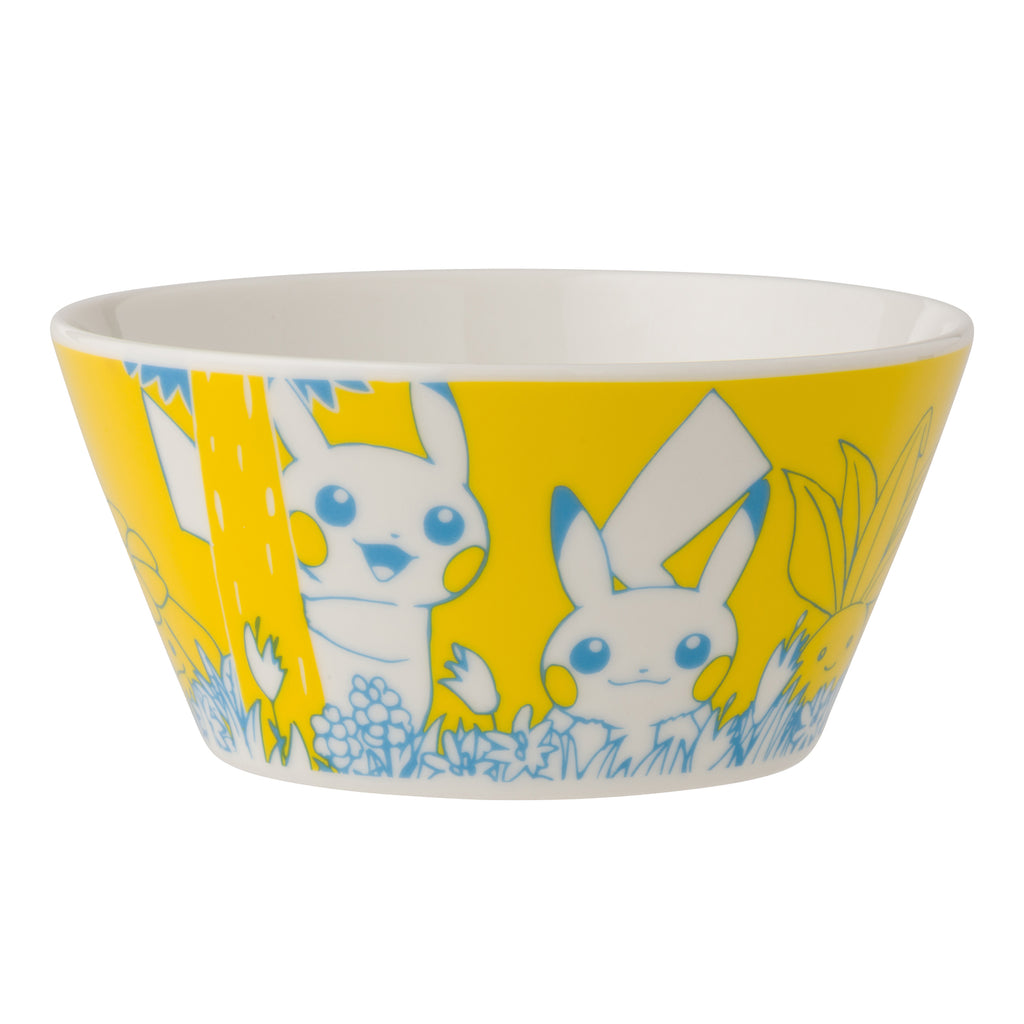 Bowl Yellow Pikachu in the forest Pokemon Center Japan Original
