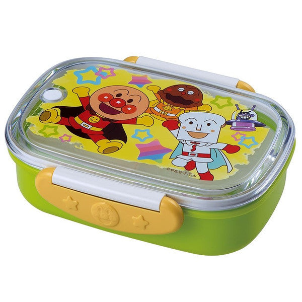 Anpanman Lock Lunch Box 360ml Green Japan