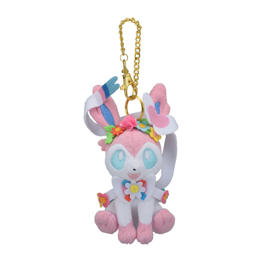 Sylveon Nymphia Plush Keychain Easter Pokemon Center 2020 Japan
