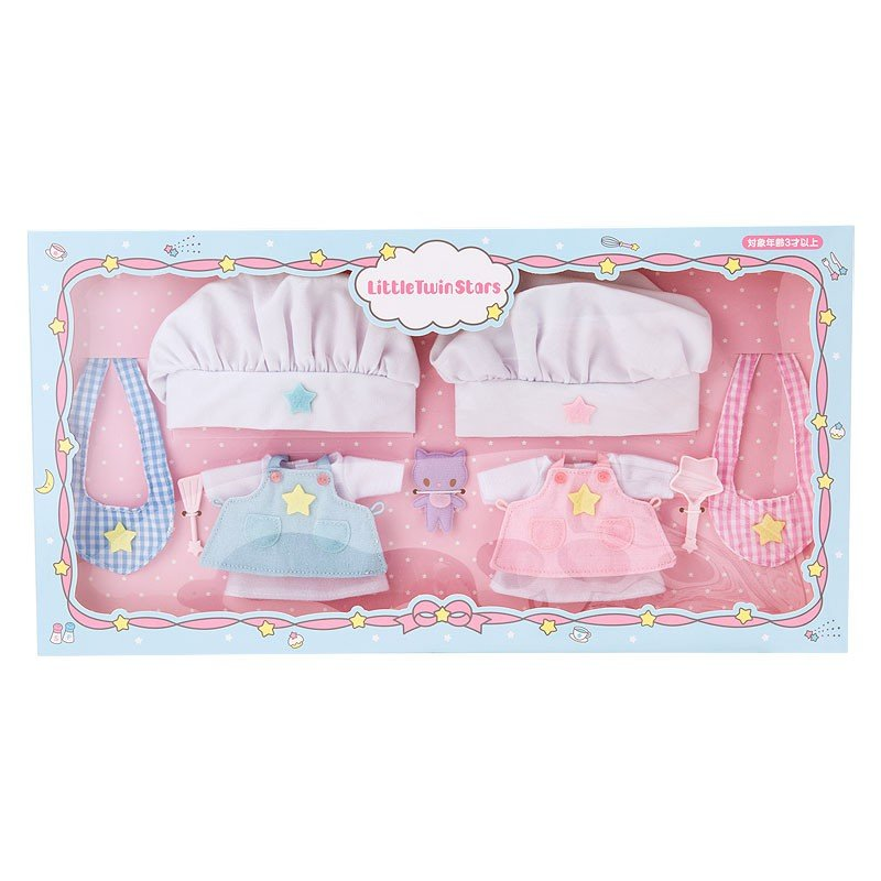 Little Twin Stars Costume for Plush Doll Cook Sanrio Japan