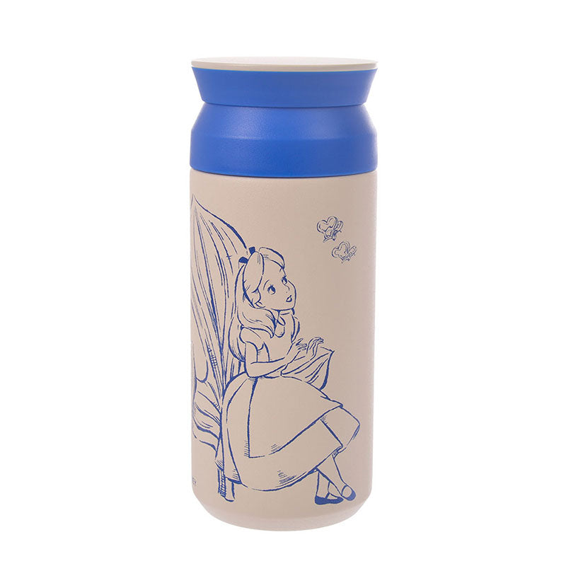 Alice in Wonderland Stainless Bottle Dining Room Disney Store Japan KINTO