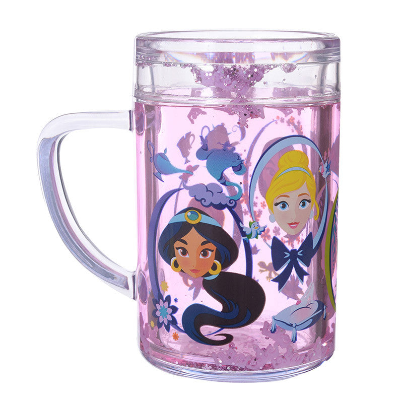 Disney Princess Plastic Cup Deformed Disney Store Japan
