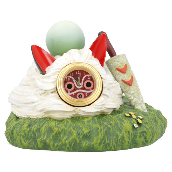 Princess Mononoke San Mask mini Clock Studio Ghibli Japan