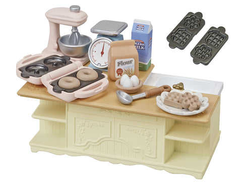 Furniture Island kitchen Ka-423 Sylvanian Families Japan Calico Critters Epoch