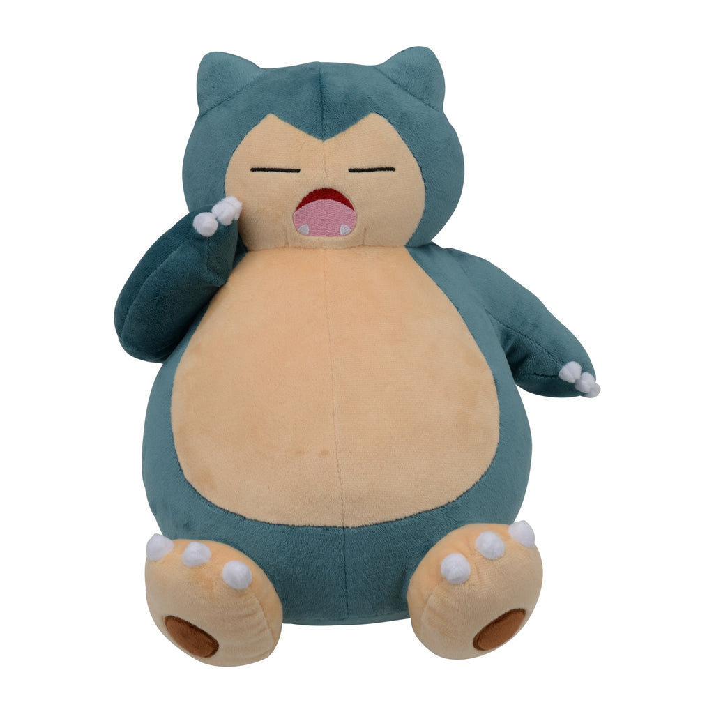 Snorlax Yawn Kabigon Plush Doll Pokemon Center Japan Original