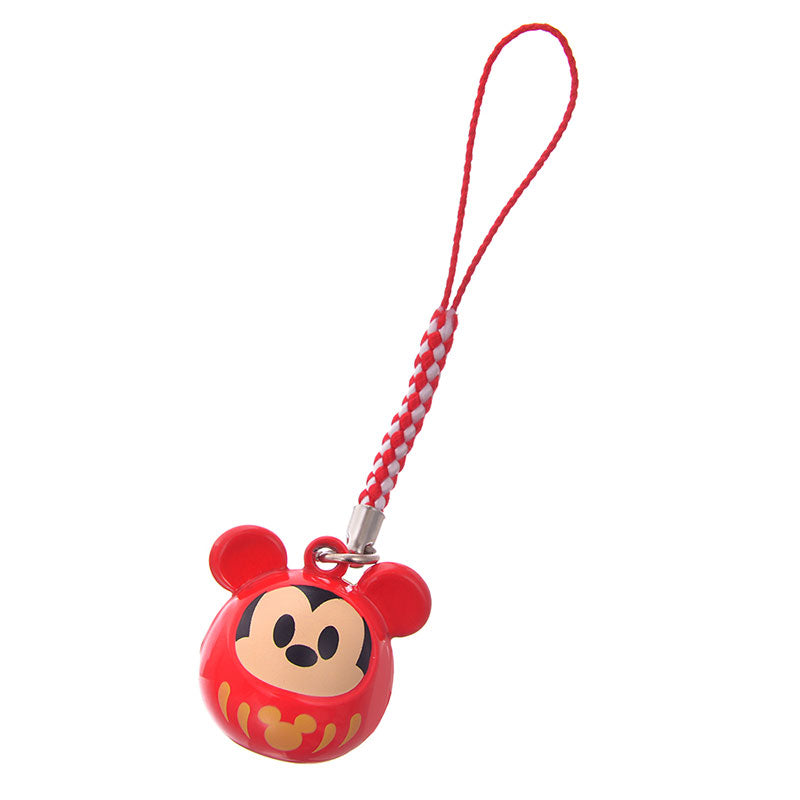 Mickey Mobile Strap Daruma Eto 2020 New Year Disney Store Japan