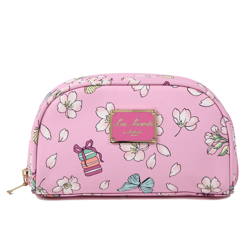 Pouch Pink Papillon Sakura Laduree Japan 2019