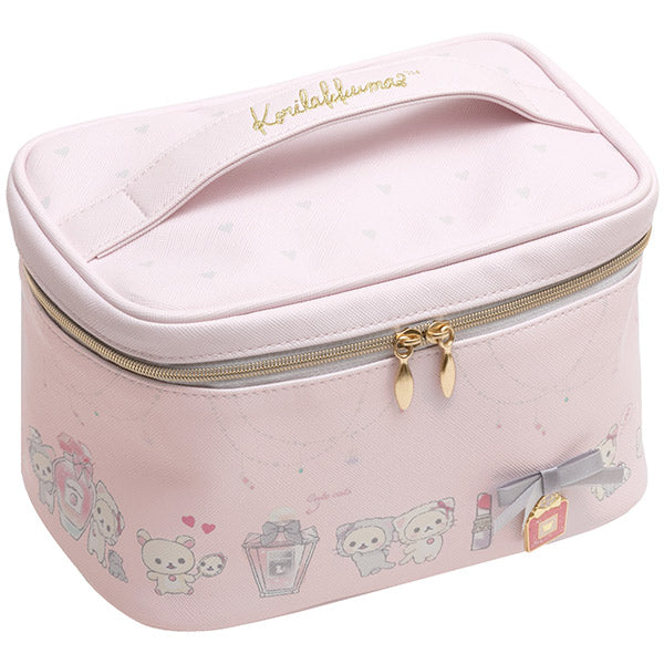 Korilakkuma in the Mirror Vanity Pouch San-X Japan