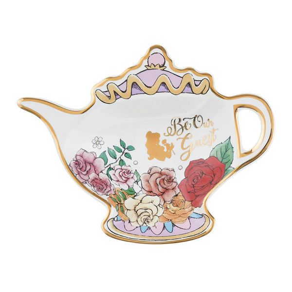 Belle mini Plate Teapot Princess Party Disney Store Japan Beauty and the Beast