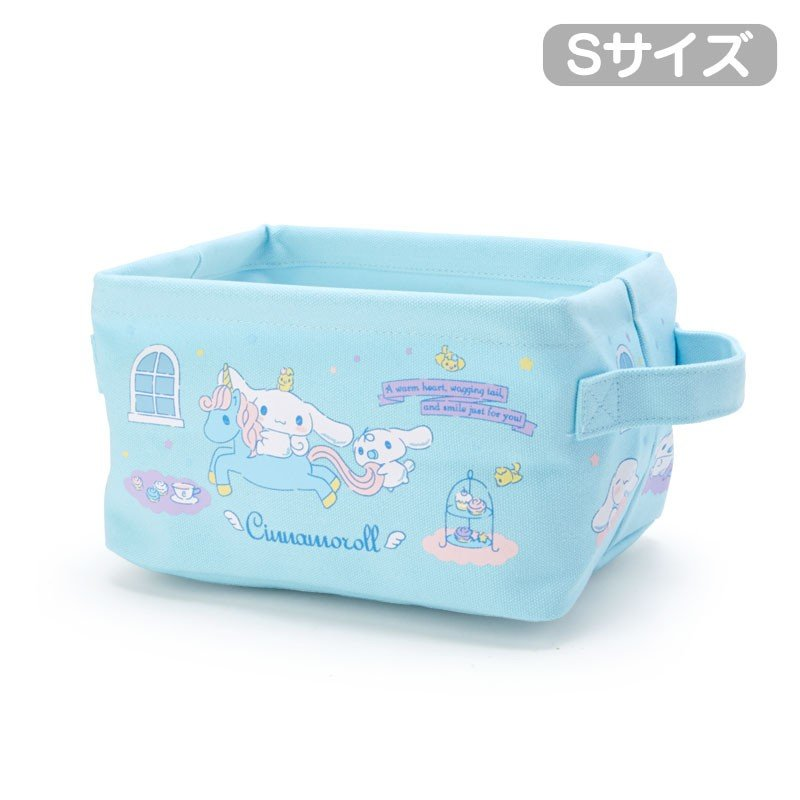 Cinnamoroll Canvas Storage Box S Sanrio Japan