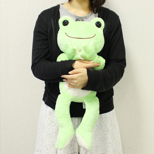 Pickles the Frog Plush Doll M Basic Japan