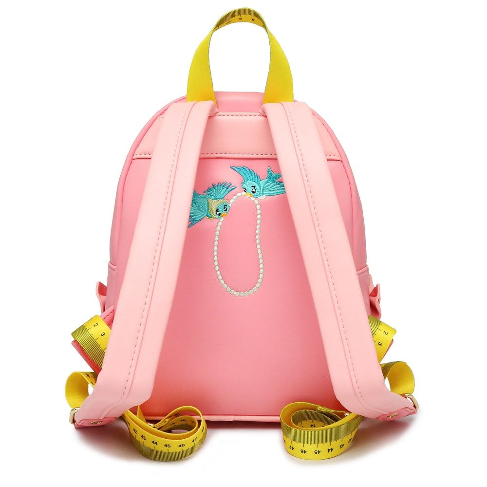 Cinderella mini Backpack Pink Dress 70th Loungefly Disney Store Japan