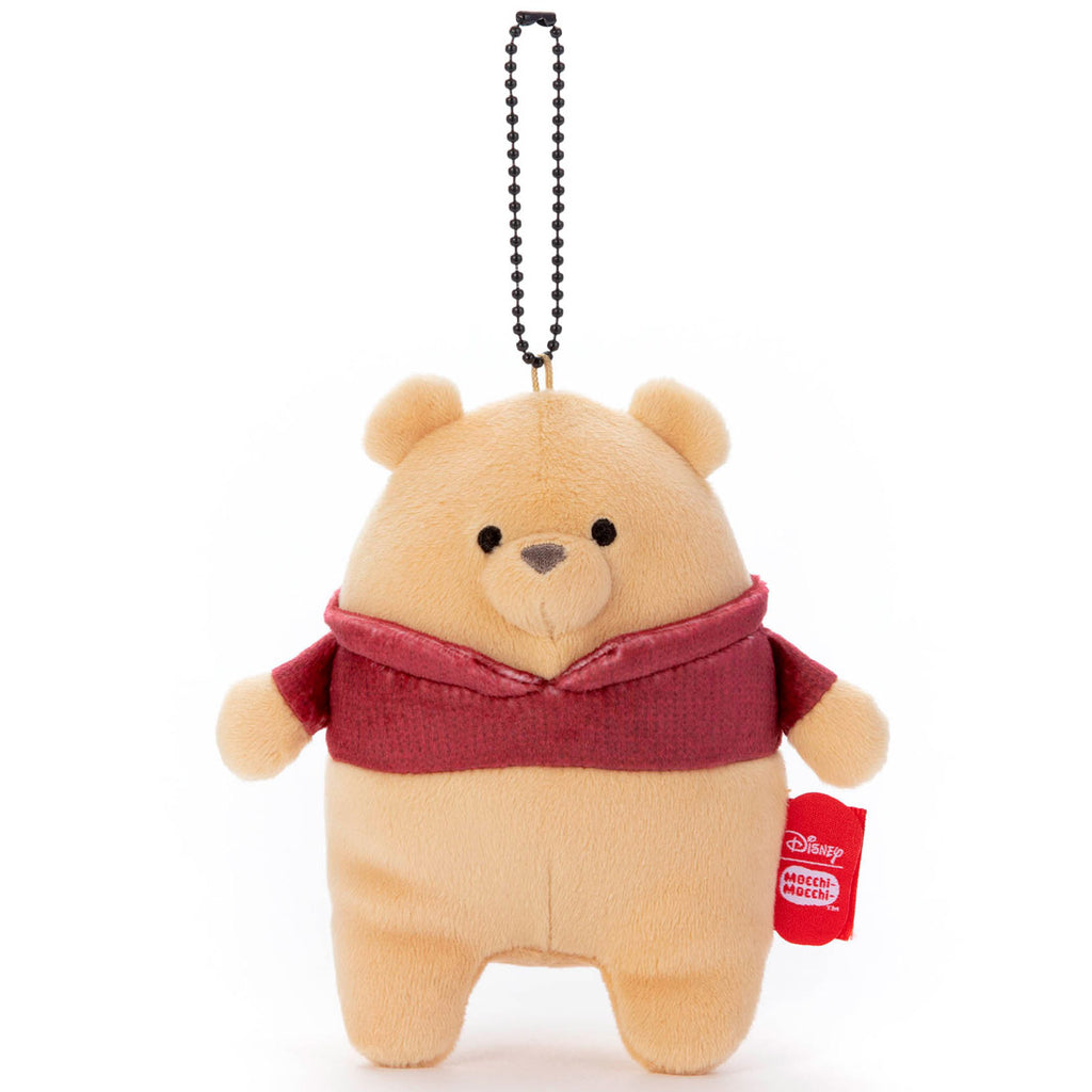 Winnie the Pooh Plush Keychain Christopher Robin Mocchi-Mocchi- Disney Japan