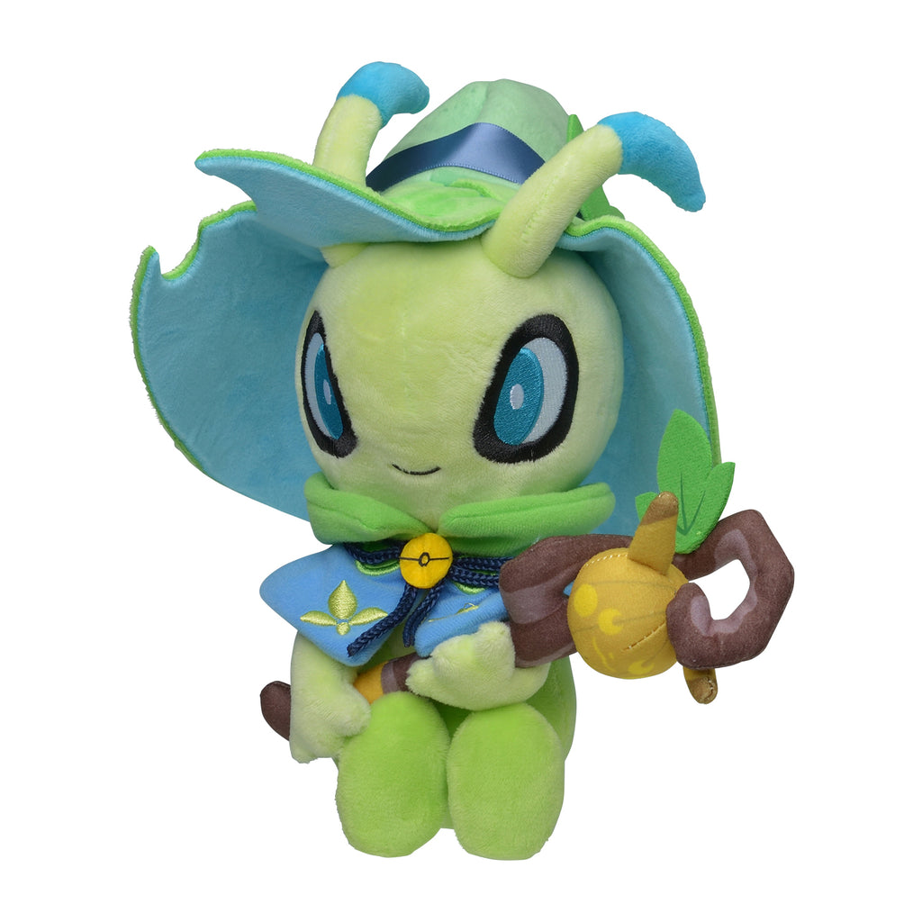 Celebi Plush Doll Halloween Festival! Pokemon Center Japan Original