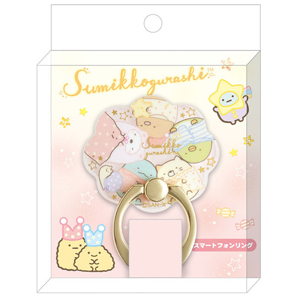 Sumikko Gurashi Smartphone Ring Staying party San-X Japan