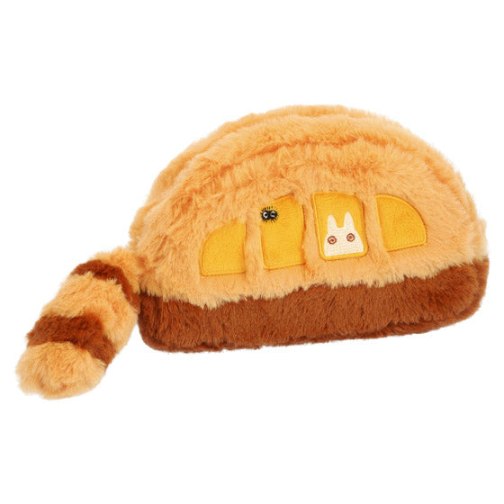 My Neighbor Totoro Neko Cat Bus Pouch Fluffy Tail Studio Ghibli Japan