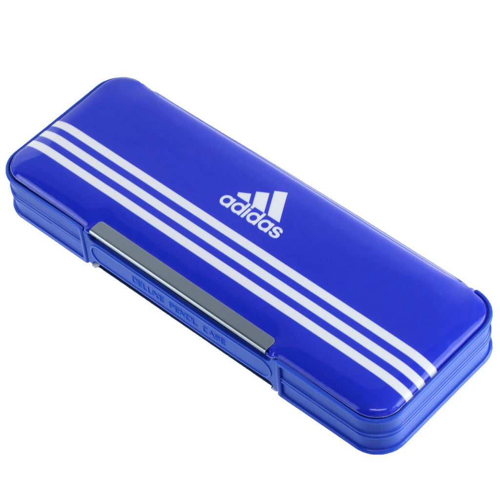 Adidas Pen Case Blue P1505BT1 Stationery Japan Mitsibishi Pencil