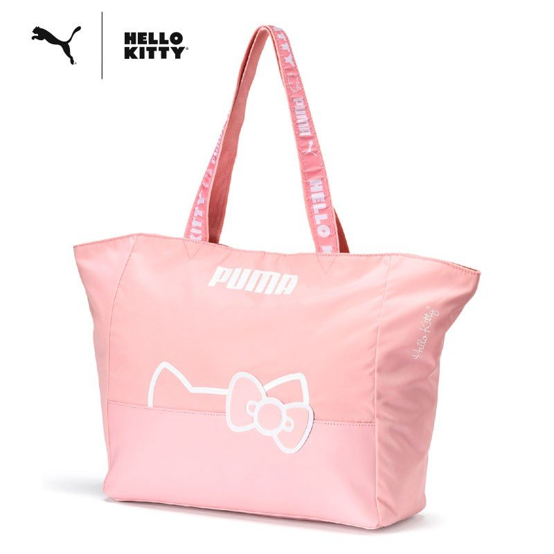 Hello Kitty PUMA Big Tote Bag 14L Pink Sanrio Japan