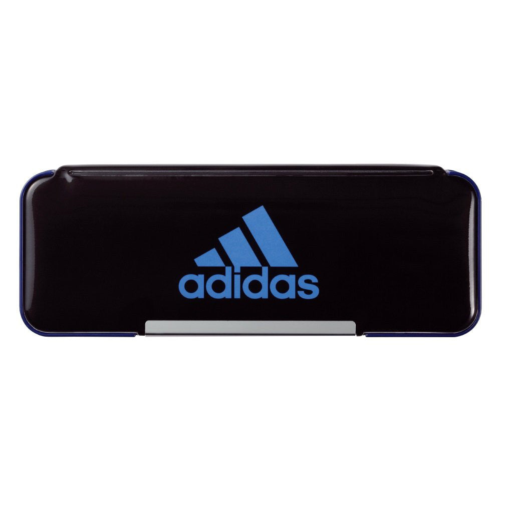 Adidas Pen Case Black Blue P1505BT3 Stationery Japan Mitsibishi Pencil