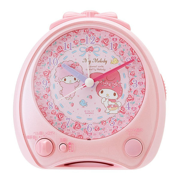 My Melody Alarm Clock Rose Sanrio Japan