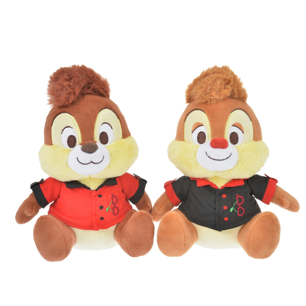 Chip & Dale Plush Doll CHERRY Disney Store Japan