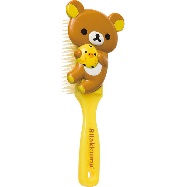 Rilakkuma Hairbrush Yellow San-X Japan
