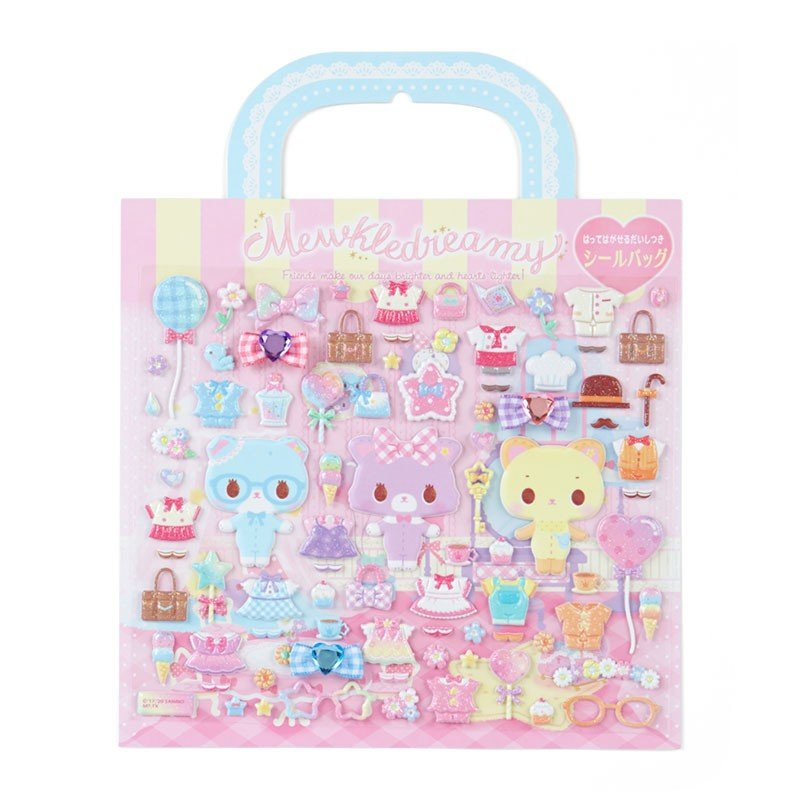 Mewkledreamy Sticker Everywhere Glitter Soap Bubble Party Sanrio Japan